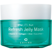 Маска-желе освежающая After Sun Refresh Jelly Mask CEFINE (Япония) 100гр