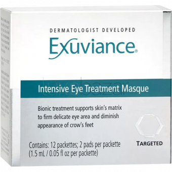 Патчи для глаз Intensive Eye Treatment Masque Exuviance (США) 12пар