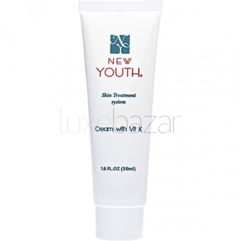 Крем с витамином К Cream with Vit K New Youth (США) 50мл