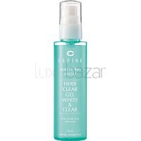 Пилинг-гель восстанавливающий Beauty Pro Herb Clear Gel White & Clear CEFINE (Япония) 120мл